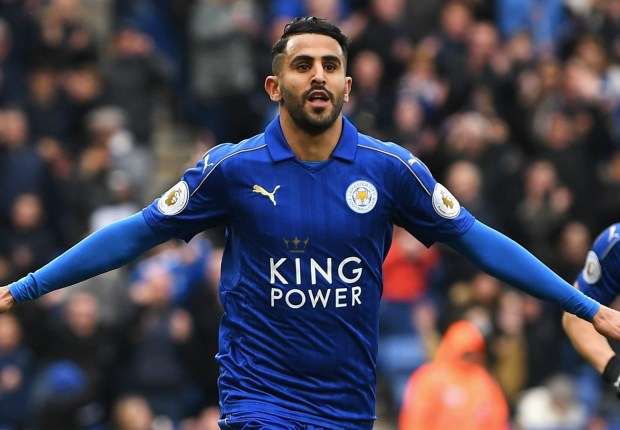 Barcelona target Mahrez pairs himself with Messi in dream five-a-side team