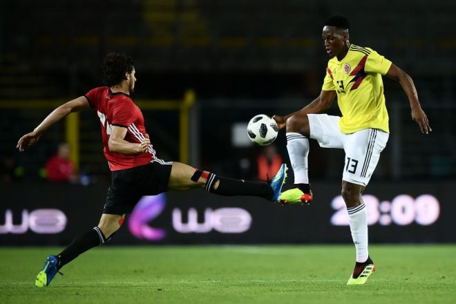 Yerry Mina Colombia 2018