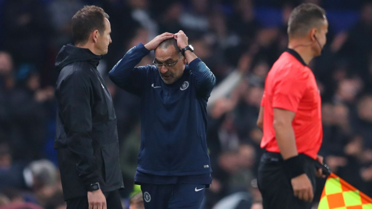 'I did not need to endure' - Sarri refused to look at Chelsea's final two penalties 2