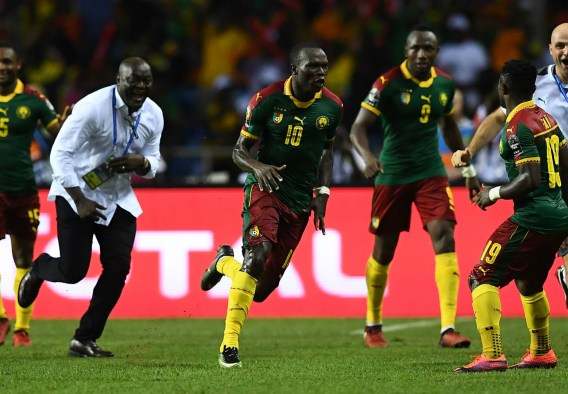 Image result for cameroon wins afcon