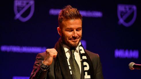 David Beckham Miami MLS announcement