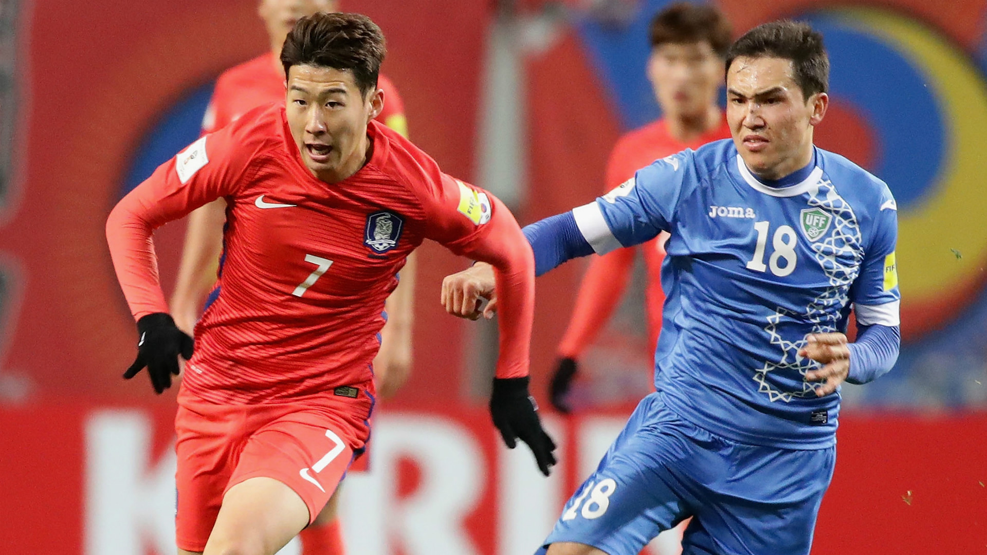 South Korea World Cup qualifying