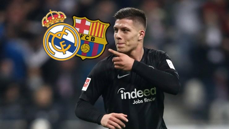 Image result for Luka Jovic Real Madrid Barcelona