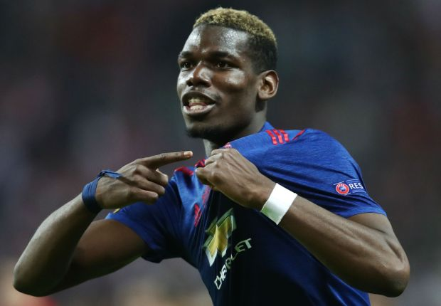 Pogba on same level as Messi, Ronaldo and Neymar, insists Man Utd boss Mourinho