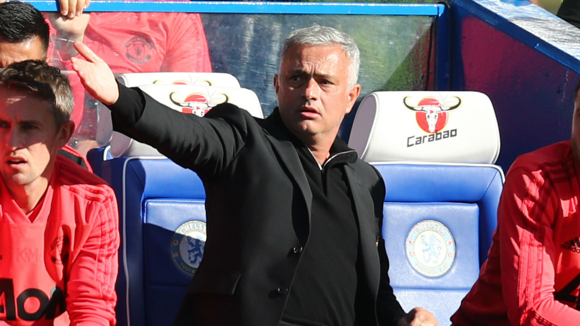Jose Mourinho Manchester United Chelsea 201018
