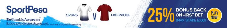 Tottenham v Liverpool SportPesa offer