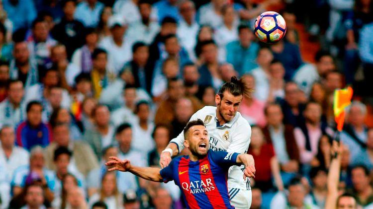 Gareth Bale Jordi Alba Real Madrid Barcelona LaLiga 23042017