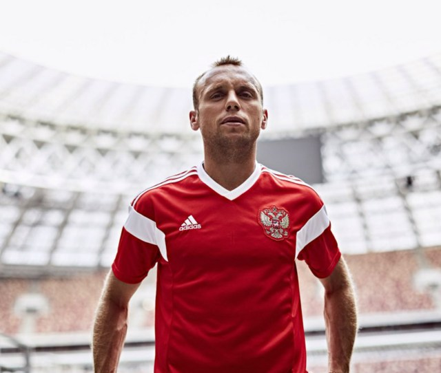 World Cup 2018 Kit Russia Home