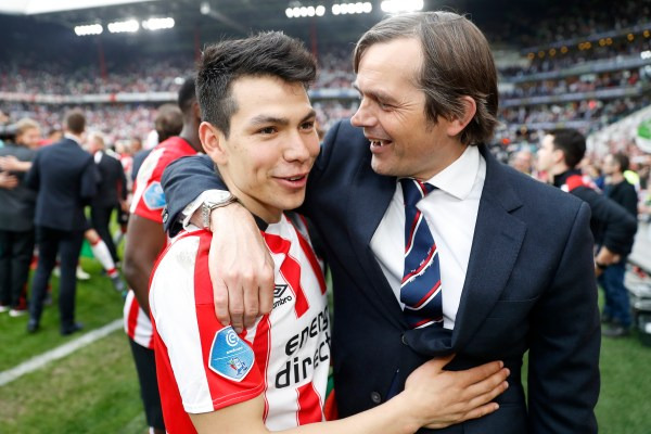 Hirving Lozano in Champions League: Napoli