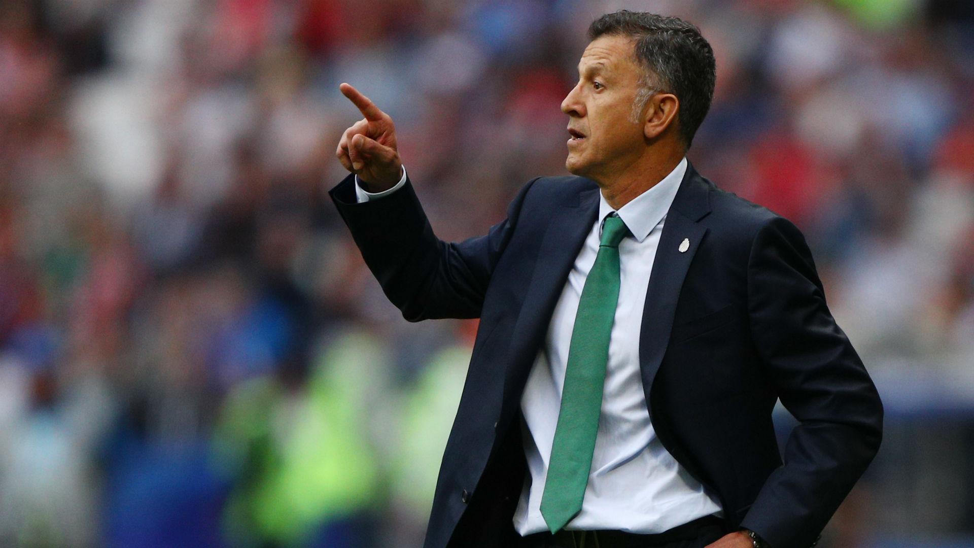 Juan Carlos Osorio Mexico Confederations Cup