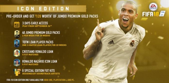 FIFA 18 Icon Edition