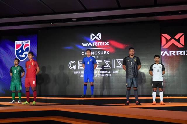 WARRIX เปิดตัวชุดแข่งทีมชาติไทย 2018