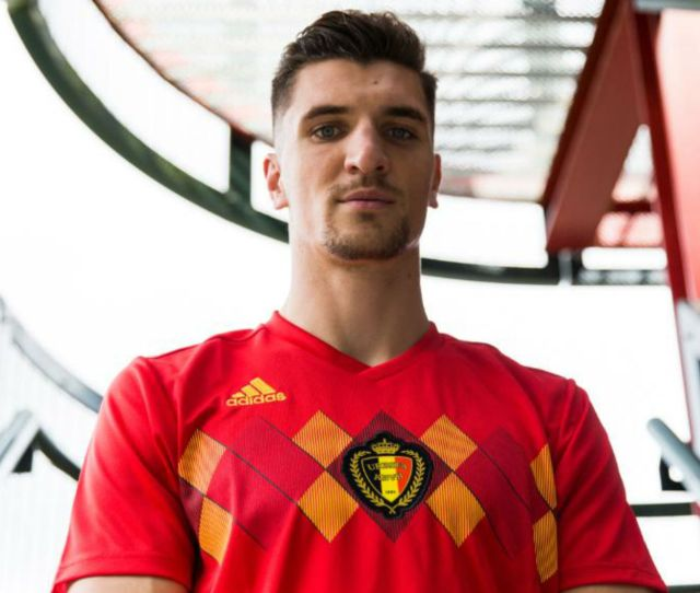 World Cup 2018 Kit Belgium Home
