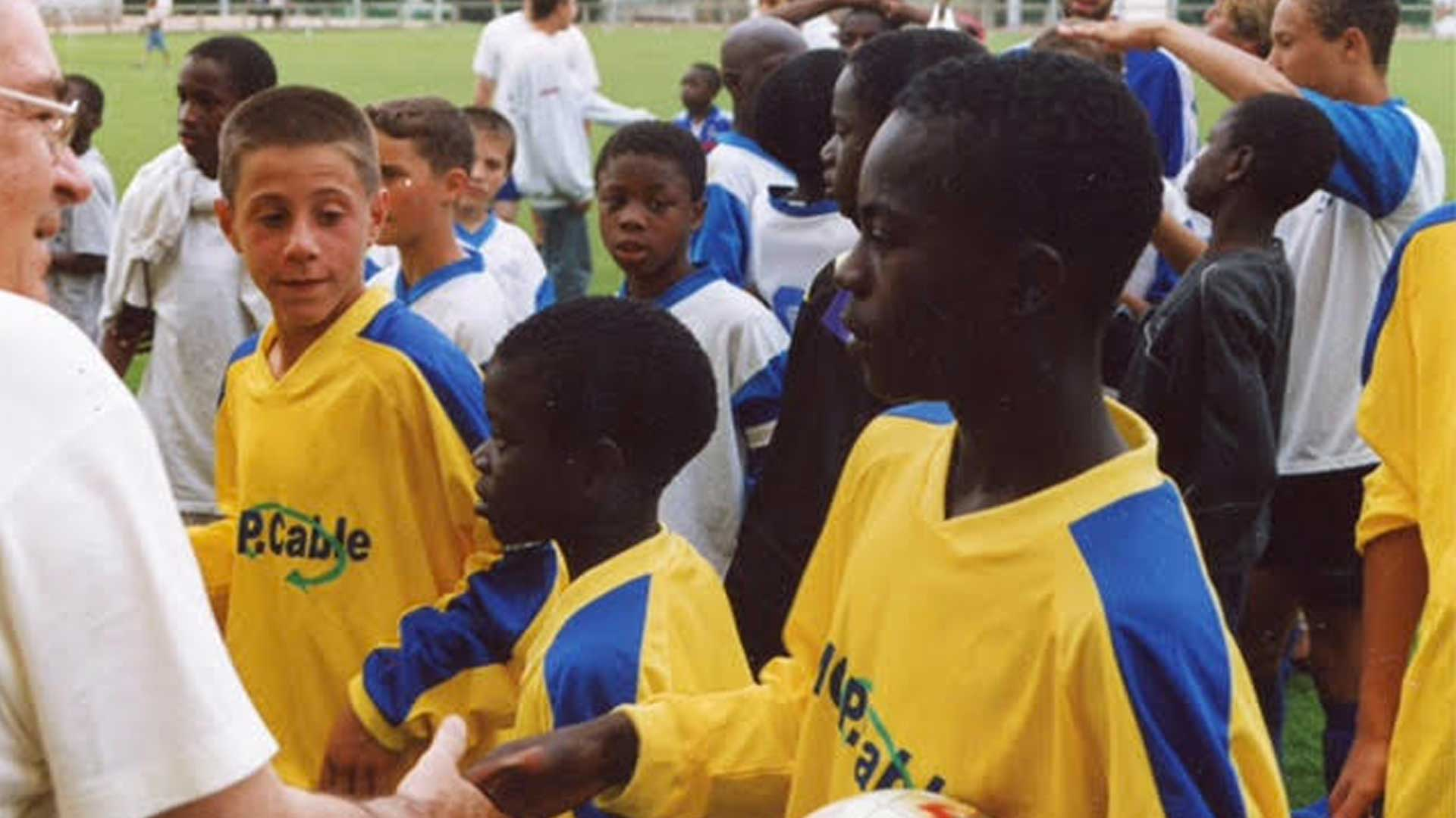 N'Golo Kante as a kid