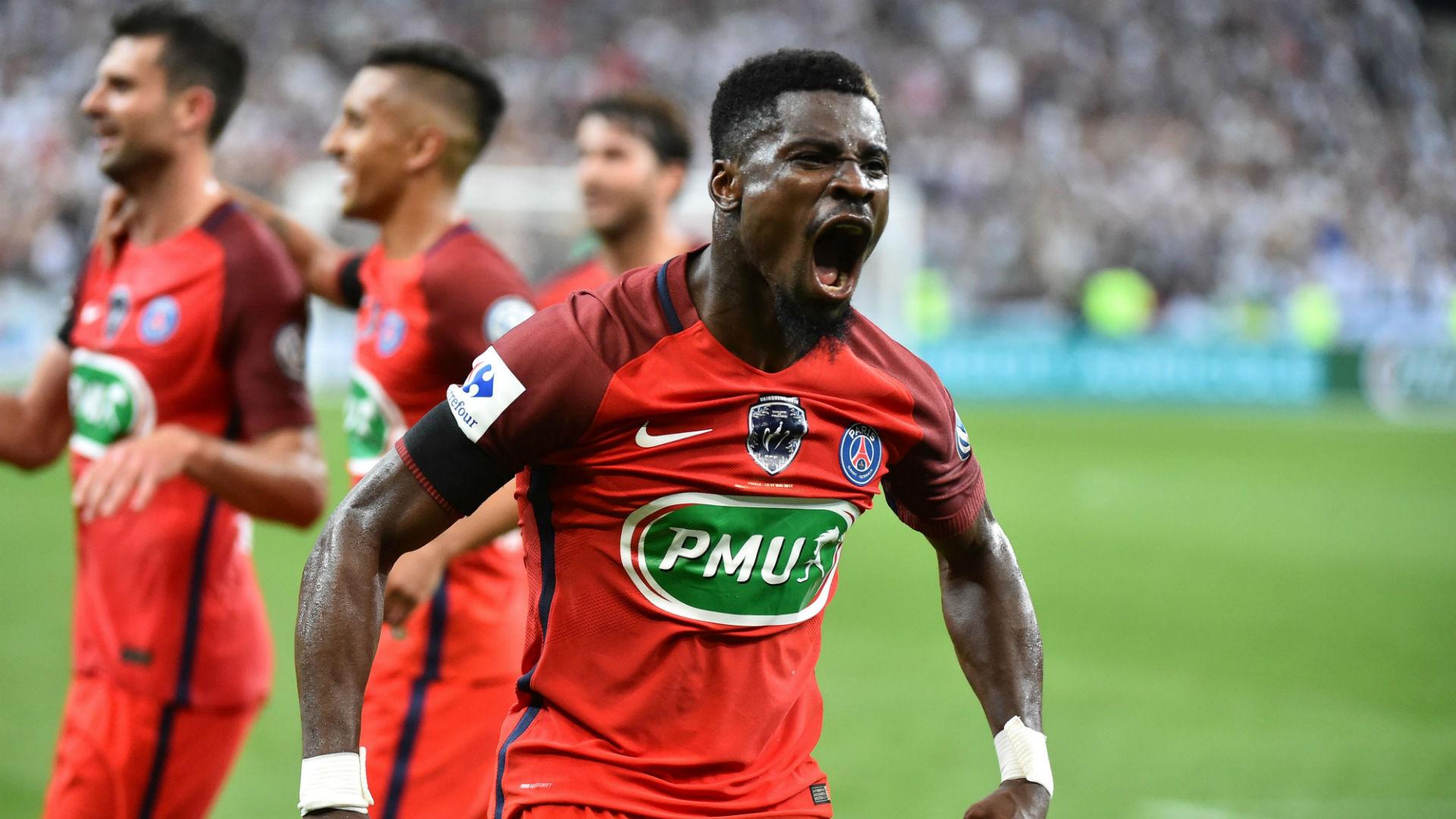 Serge Aurier Angers PSG Coupe de France 27052017
