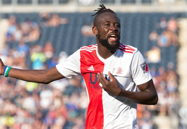 Kei Kamara and the New England Revolution are stuck in a failing marriage