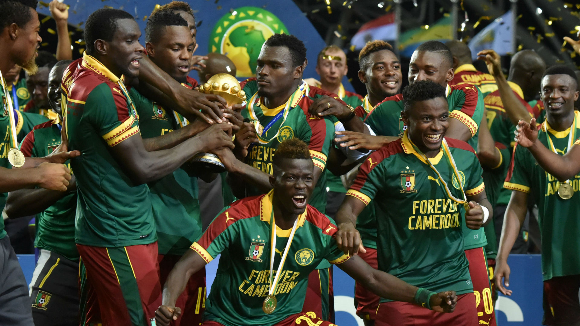 Cameroon fly up FIFA ranking after Africa Cup of Nations triumph