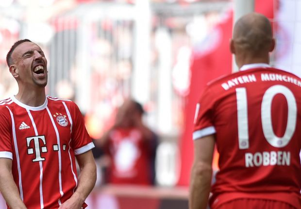 Bayern duo Ribery and Robben told they are too old for Chinese Super League