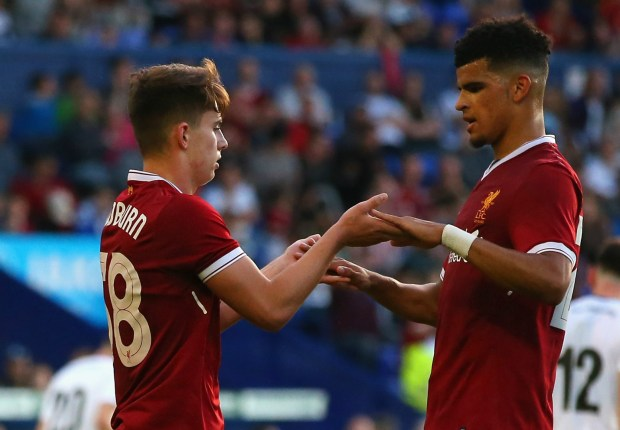 """Klopp sees """"wonderful signs"""" from Liverpool new-boy Solanke"""