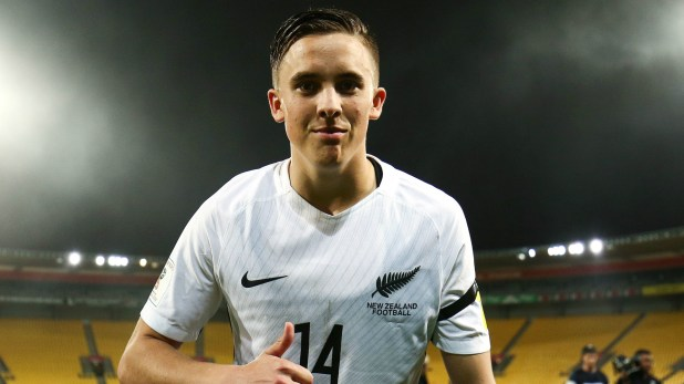 New Zealand World Cup qualifying
