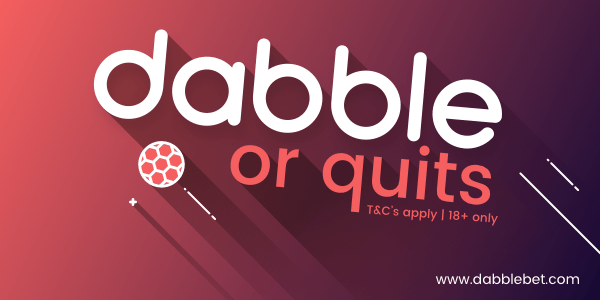 dabble or quits promotion