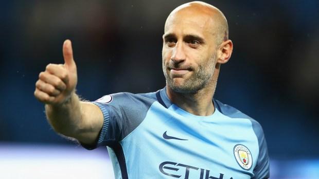 Pablo Zabaleta Manchester City Premier League