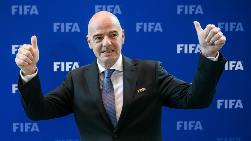 Image result for Africa is exited with FIFA 48 team world cup - Pinnick