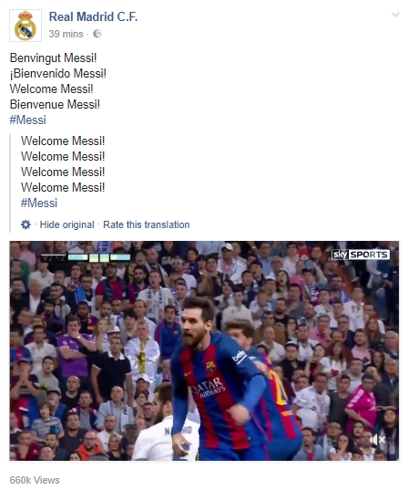Real Madrid Facebook Hack 1