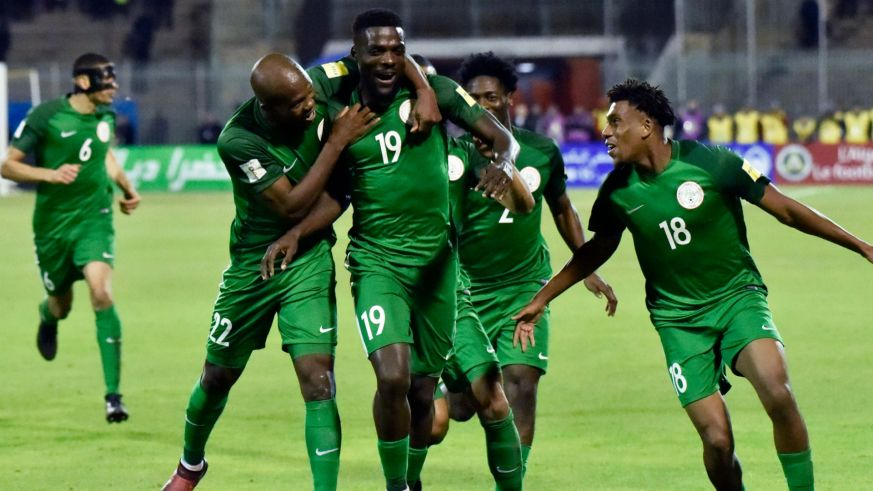 Image result for Super Eagles beat Messi-less Argentina 4-2 in a friendly match