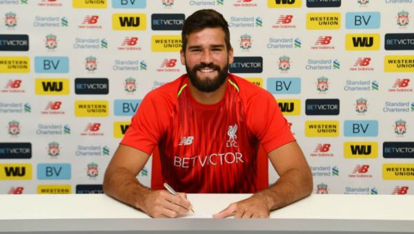 Image result for alisson liverpool