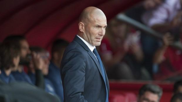 Zinedine Zidane Real Madrid Granada LaLiga 06052017
