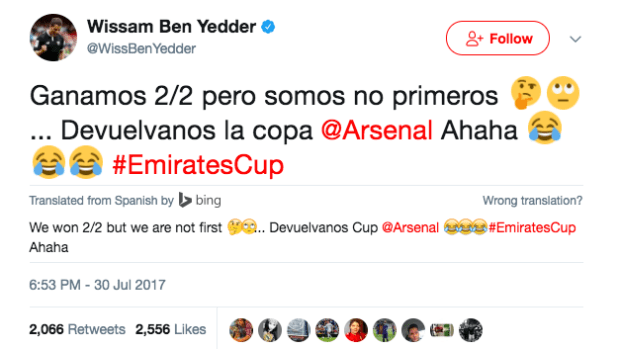 HD Ben Yedder tweet 1