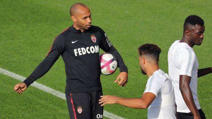 Thierry Henry Monaco training