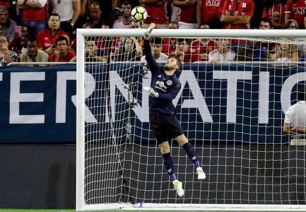 Mou's No.1 signing - De Gea limits MSN damage to celebrate Man Utd stay