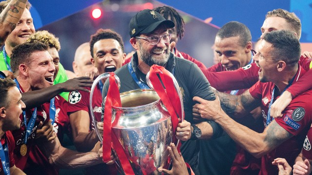 Jurgen Klopp Liverpool Champions League 2018-19