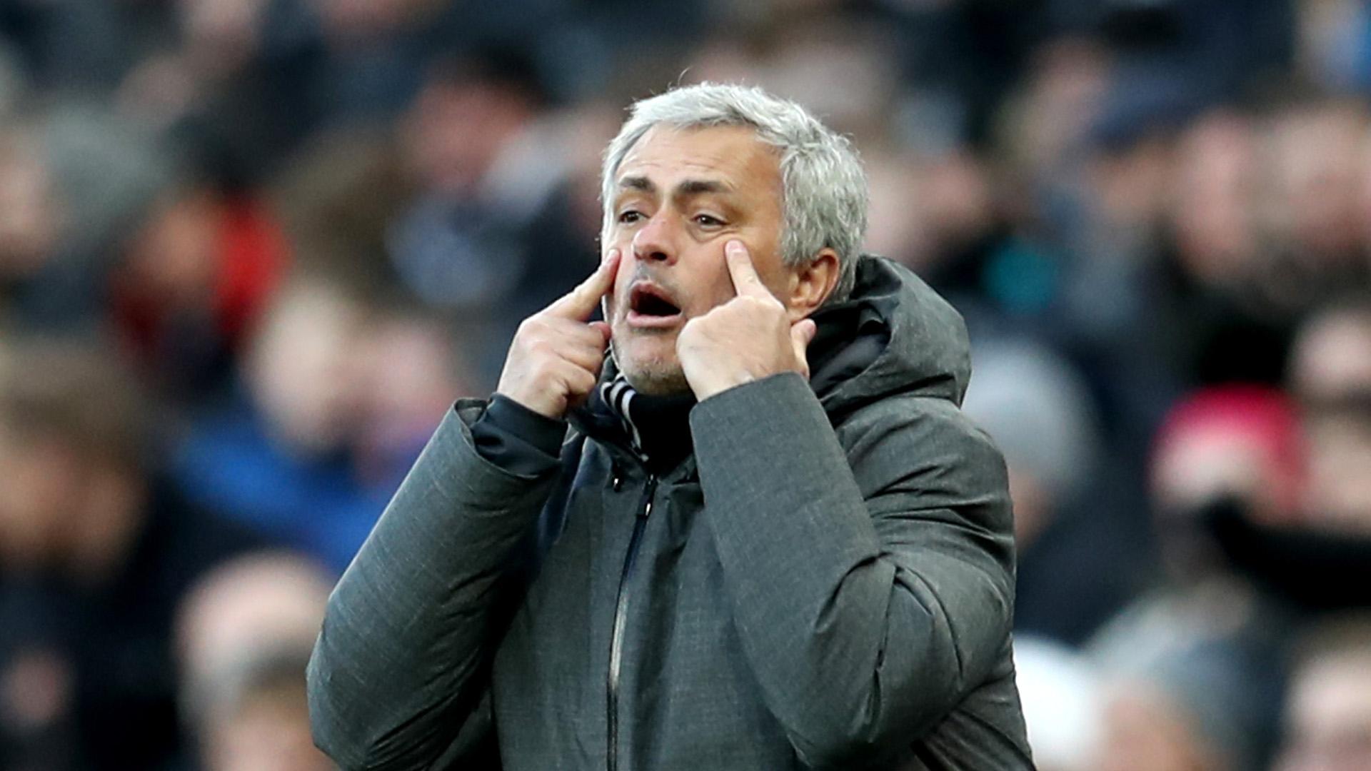 Jose Mourinho Manchester United Newcastle United Premier League