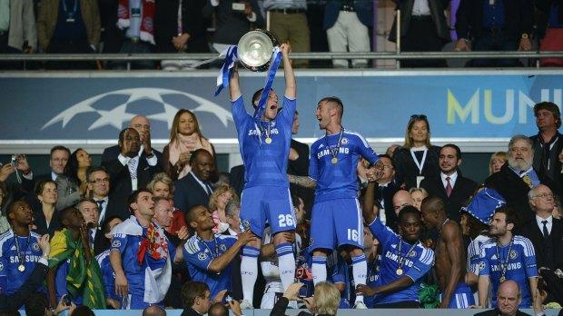 John Terry Chelsea Champions League final 2012