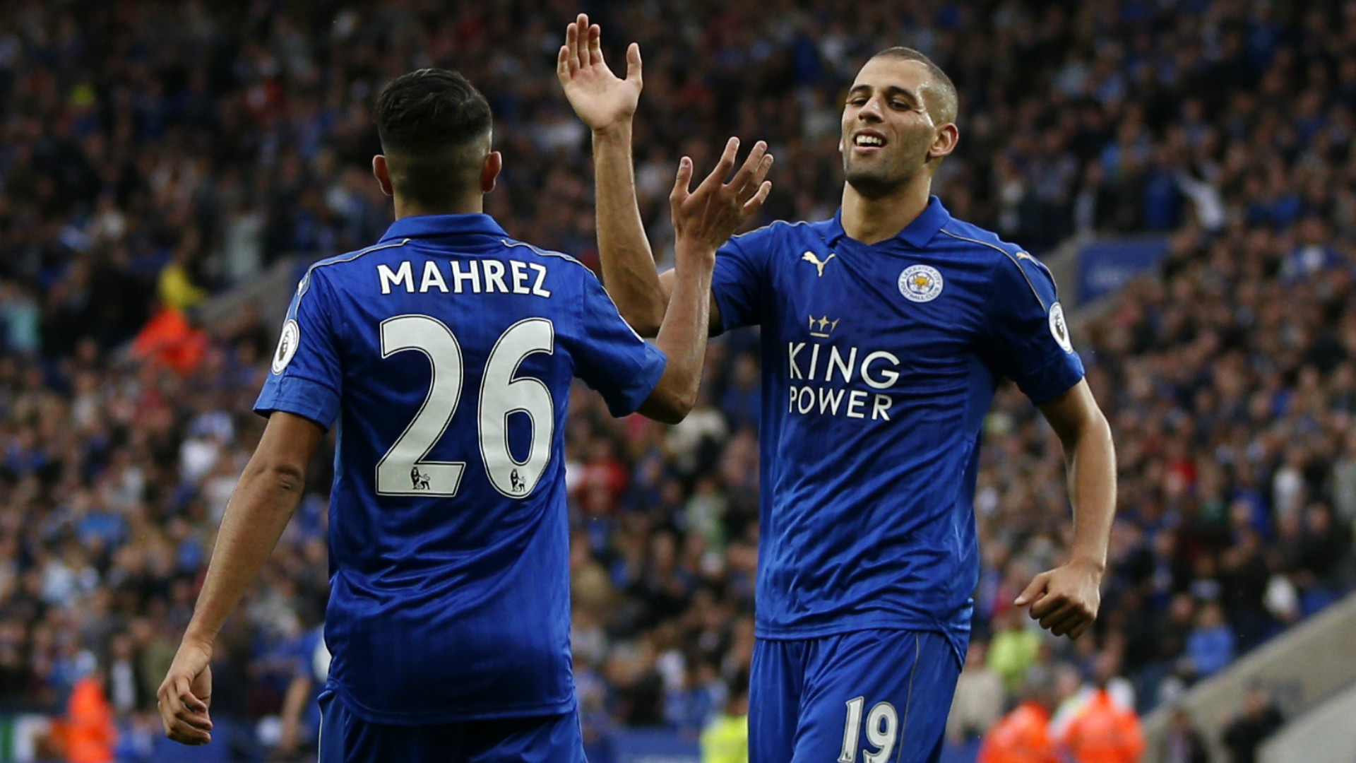 Leicester's Algerian axis taking the Foxes to the next level