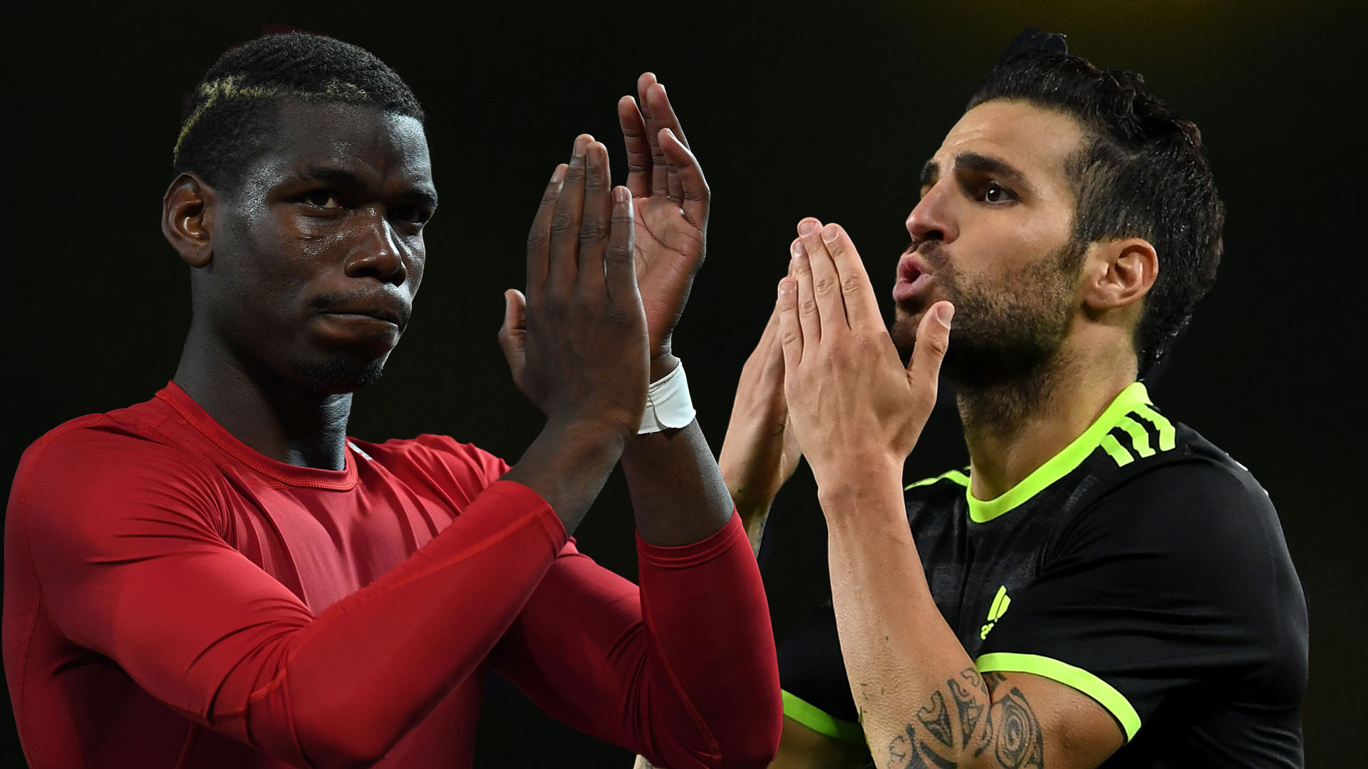 Image result for Pogba needs Man United to sign Fabregas