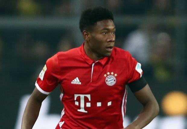 David Alaba Bayern Munich 19112016