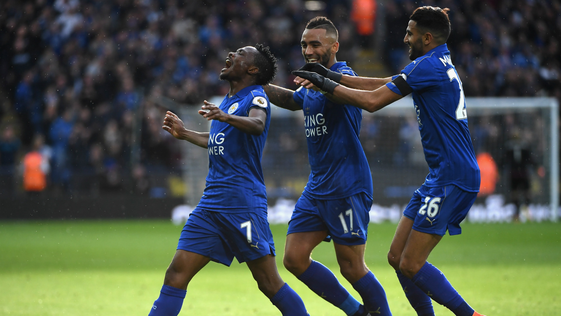 Leicester City 3-1 Crystal Palace: Foxes get back to winning ways