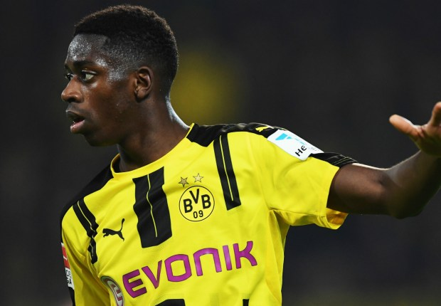 Man City and Barca told there is 'no way' Dembele will be leaving Dortmund