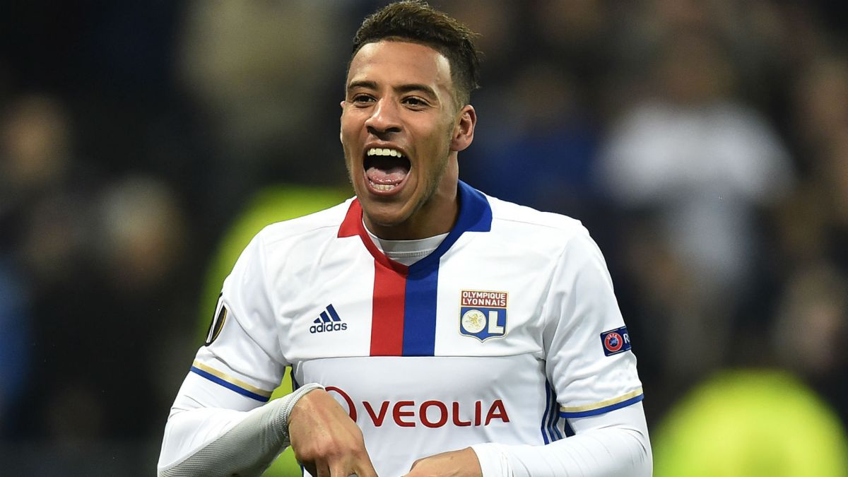 Corentin Tolisso Lyon AS Roma Europa League 09032017
