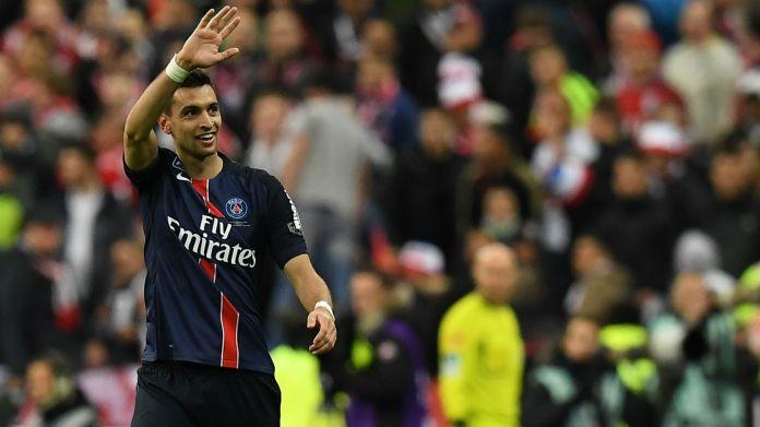 Javier Pastore Paris SG Lille Coupe de la Ligue 23042016