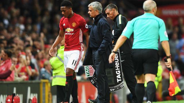Mourinho and Martial