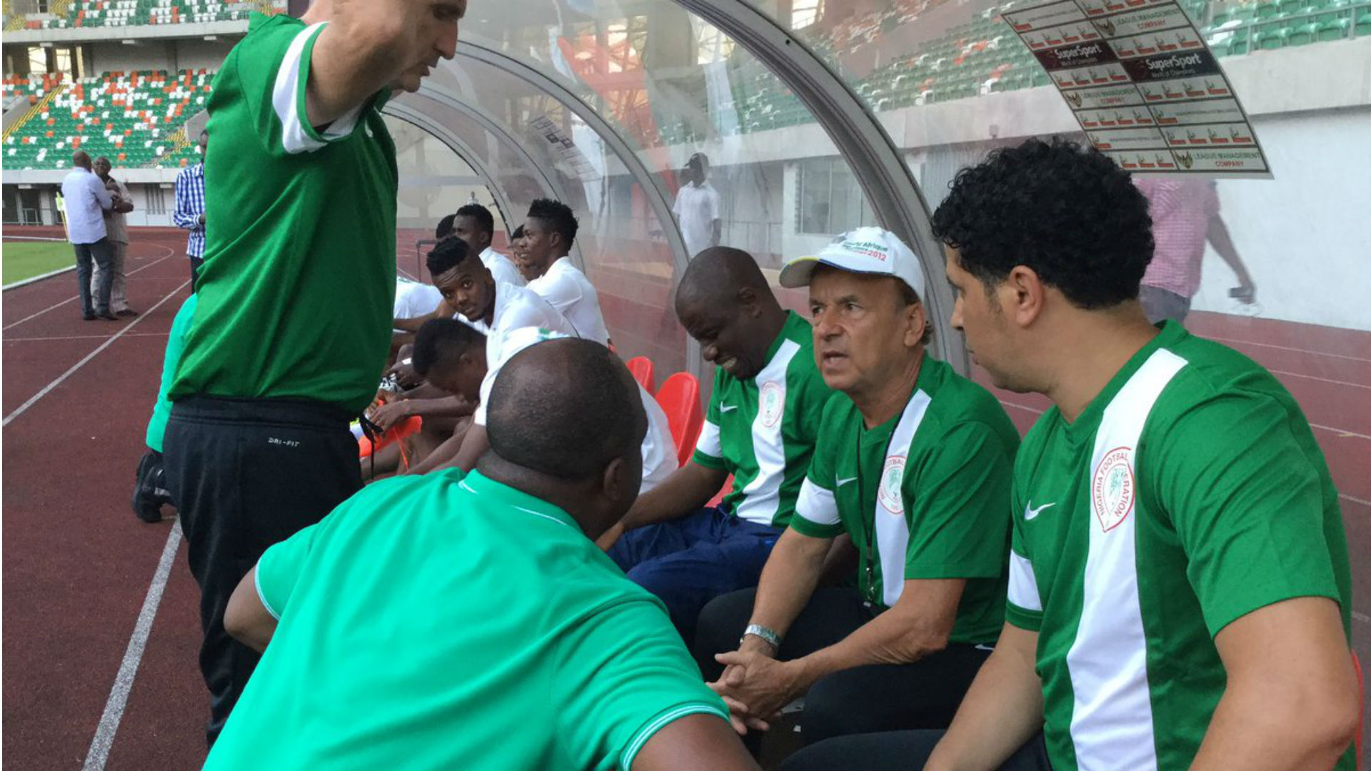 Image result for We won't play 'Chelsea style' against Algeria – Rohr