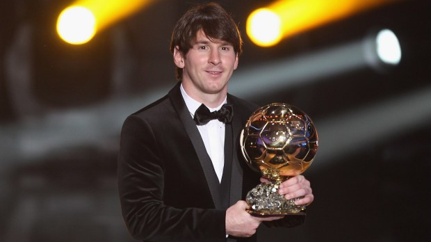 Lionel Messi Ballon d'Or 2011