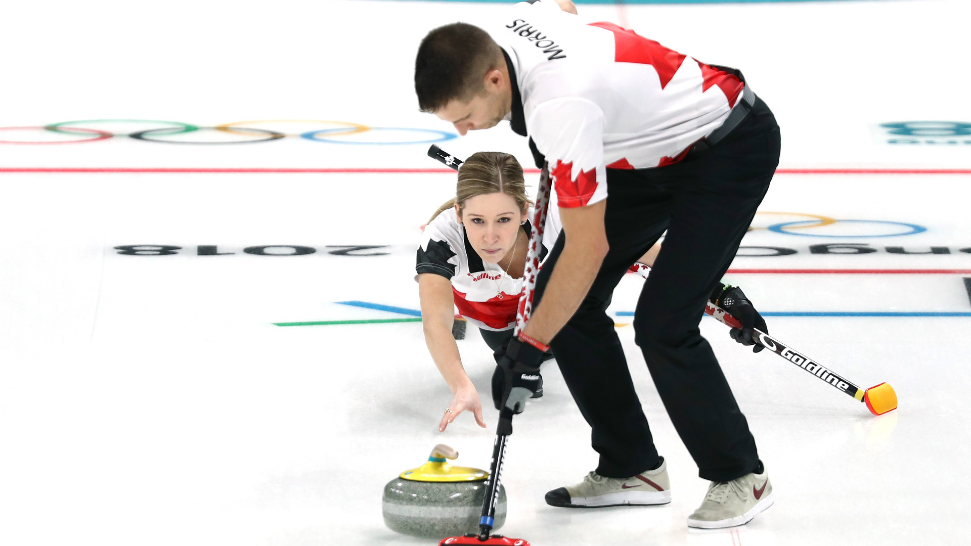 Image result for mixed doubles curling olympics 2018 final