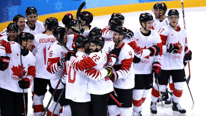 Canada men's hockey team