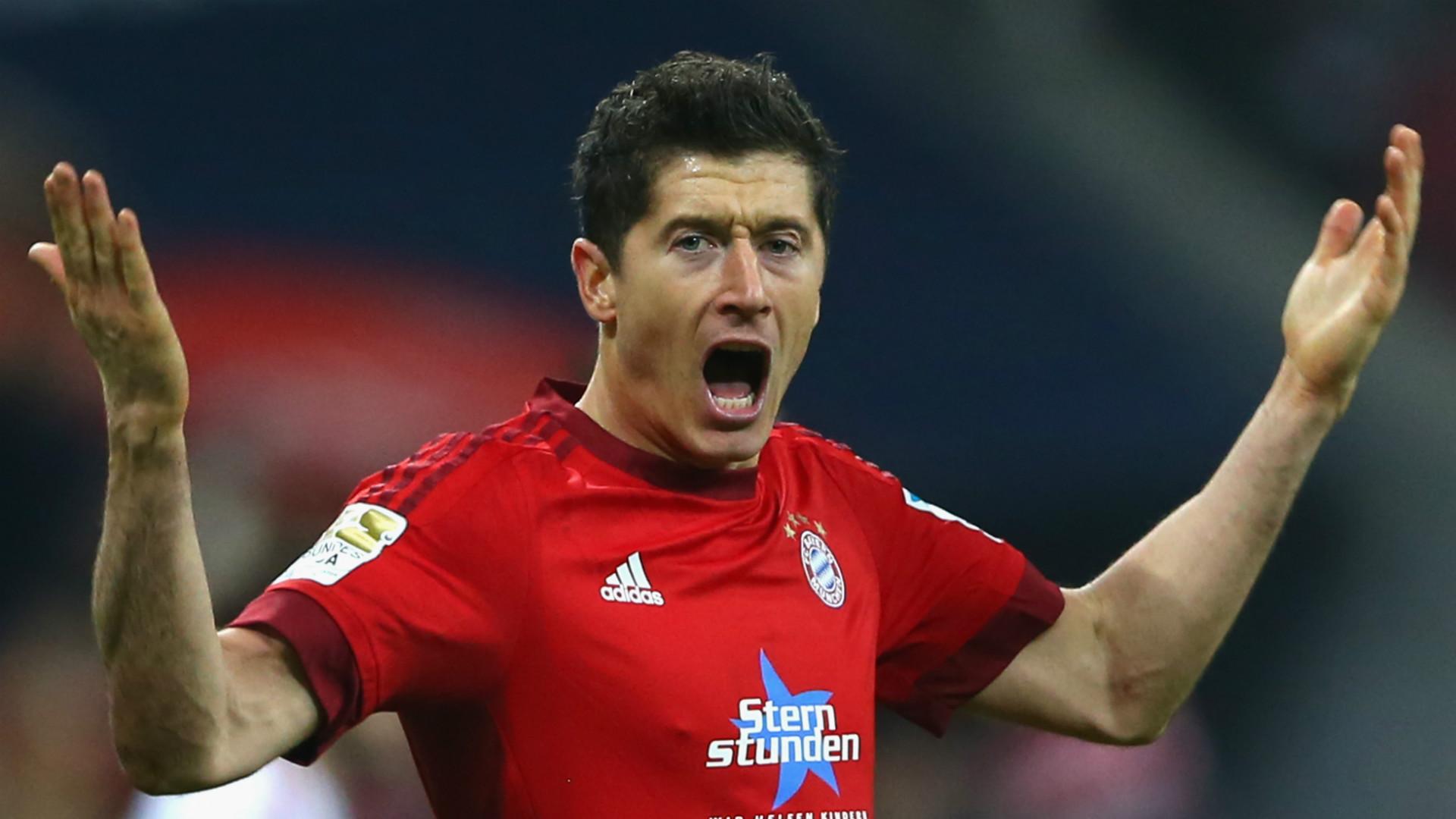 Bayern Münchens Robert Lewandowski